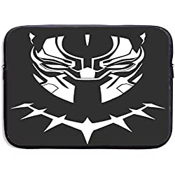 Greatbe Marvel'S Black Panther Ultrabook Resistente al Agua Funda con Funda para maletín Bolsas para portátil 13/15 Pulgadas para MacBook Pro/MacBook Air/Surface Book/Surface Laptop