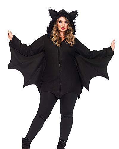 Classic Pink Donna Vestono Girls Halloween Creativo Pipistrello Cosplay Set Casual Nero 2XL