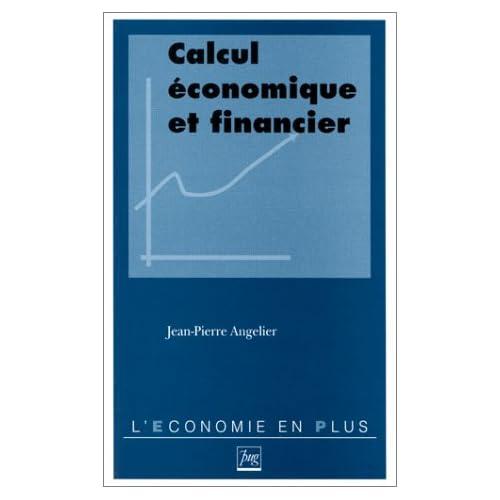 Calcul économique et financier