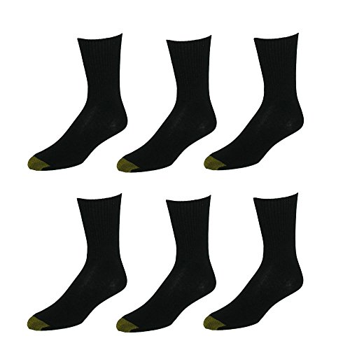 Gold Toe Damen   Legere Socken  -  schwarz -  -