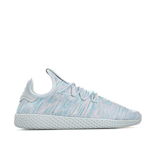 Zapatillas adidas ? Pw Tennis Hu gris/azul/rosa talla: 39-1/3