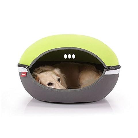 Ibiyaya Little Arena Pet Bed, Green