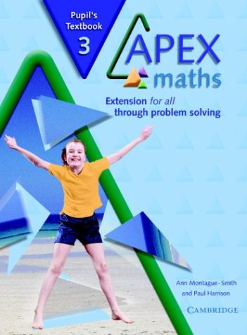 Apex Maths 3 Pupil's Textbook: Extension for all through Problem Solving