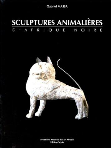 SCULPTURES ANIMALIRES D'AFRIQUE NOIRE