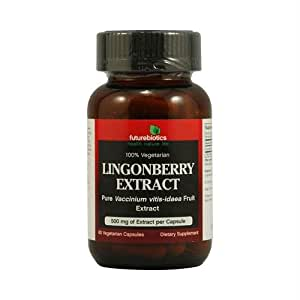 Lingonberry Extract 500mg 60 Capsules