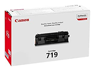 Canon cartucho 719 de tóner BK para impresoras láser i-SENSYS LBP6300dn,6310dn, 6650dn, 6670dn, 6680x, 251dw, 252dw, 253x, MF5840dn, 5880dn, 5940dn 5980dw, 6140dn, 6180dw, 411dw, 416dw, 418x, 419x (B0038W1BOG) | Amazon price tracker / tracking, Amazon price history charts, Amazon price watches, Amazon price drop alerts