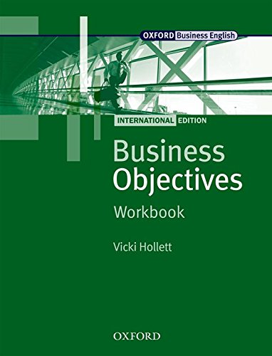 Business Objectives International Edition: Business Objectives. Workbook