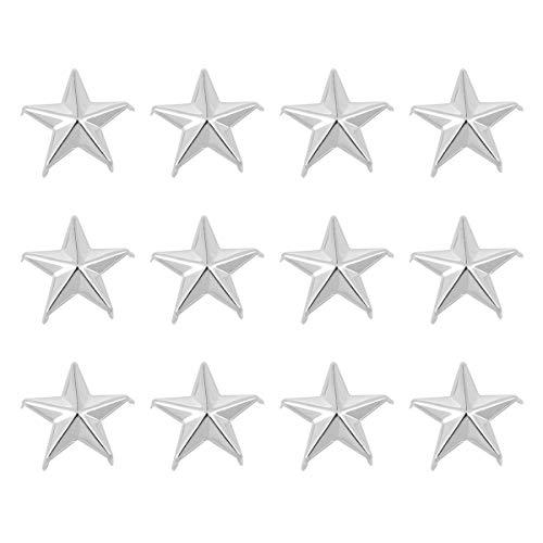 Artibetter 50 STÜCK Stern Studs Metall Klaue Perlen Nailhead Punk Nieten mit Spikes für Leathercraft, Handtaschen, Handy-fällen - Spike-falle
