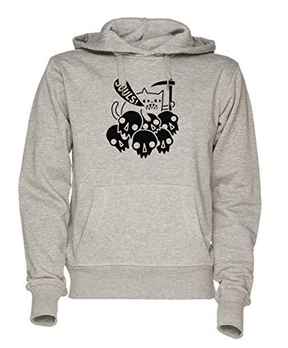 Soul Unisex Grau Sweatshirt Kapuzenpullover Herren Damen Größe M   Hoodie for Men and Women Size M ()