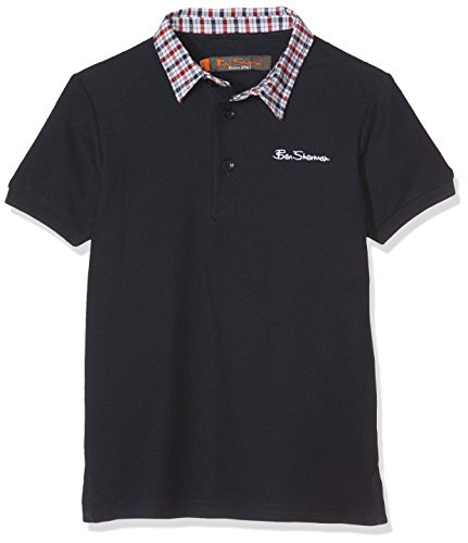 ben-sherman-woven-collar-pique-polo-garcon-bleu-blazer-bleu-marine-12-13-ans