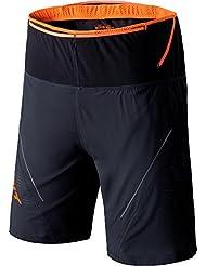 Dynafit Shorts Ultra 2/1 Short Asphalt/Orange S