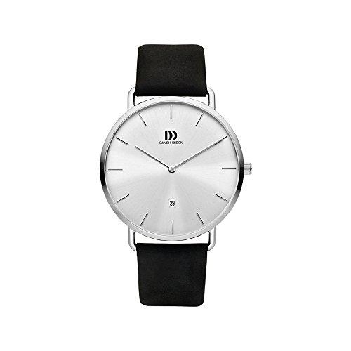 Danish Design Reloj Analógico para Hombre de Cuarzo con Correa en Cuero IQ12Q1244
