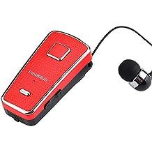 SamMoSon 2019 Mini Auriculares Bluetooth Deportivos Auricular Inalámbrico En La Oreja con Auriculares con Micrófono Mini