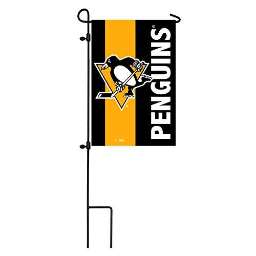 Team Sport Amerika Pittsburgh Penguins Outdoor Safe Bestickt doppelseitig Logo Aufnäher Garten Flagge, 31,8x 45,7cm - Pittsburgh Penguins-flag