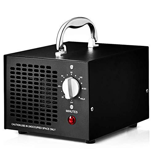 COSTWAY Generador de Ozono 5000mg / h Profesional Ozonizador Purificador de Aire Función de Temporizador...