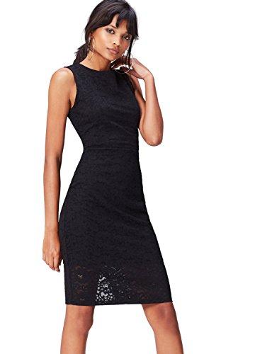 Find. 70231a vestiti da sera donna eleganti, nero (black), 40 (taglia produttore: x-small)