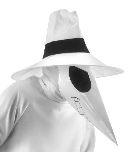 y Zubehör Set, weiß, One Size (Spy Vs Spy Kostüm)