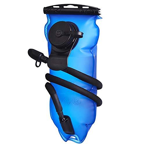 RIMIX Bolsa de Agua portátil Plegable Montar en el Exterior montañismo Correr Diseño de Doble Puerto 2L