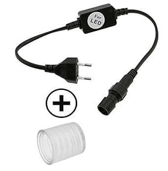 Goliath Pack 1 adaptateur secteur avec 1 embout pour tuyau LED Ø 13 mm