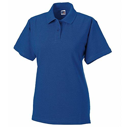 Russell Athletic - Polo - Femme Bleu - Bleu roi