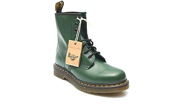 Dr. Martens, Stivali Uomo Verde Verde, Verde (Verde), 39.5