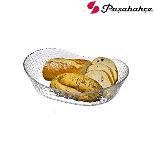 PASABAHCE HABITAT 1 GLAS BOOT FORM OVAL, SCHÜSSEL SCHALE BOL CAPPA BOL TACO GLASSCHALE 26