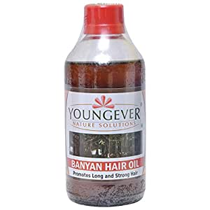 Youngever Banyan hair oil (225 ml) Pack of 3