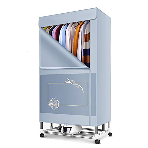 QL Haushalts-faltender thermostatischer elektrischer Wäschetrockner, schnell trocknende Kleidung 2000W Hochleistungstrockner, leiser Wäschetrockner, PTC effiziente Heizsicherheit
