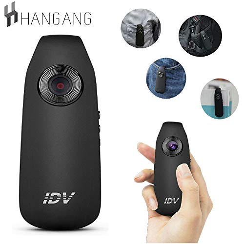 Cam-clip (Hangang Small Camera 1080P Full HD Hidden Cameras Clip Body Cam for Home and Office, Mini Sport DVR and Car Dash Camer)