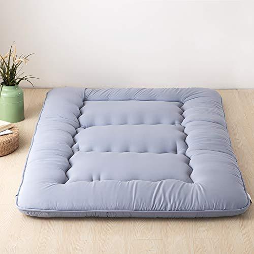 *10cm Dicke Bodenmatratze Tatami Gepolsterte matratze, Atmungsaktive Langsam Rebound Japanischen Boden futon-matratze Futonbett Matratze Futon Leicht zu Carry,C,120x200cm*