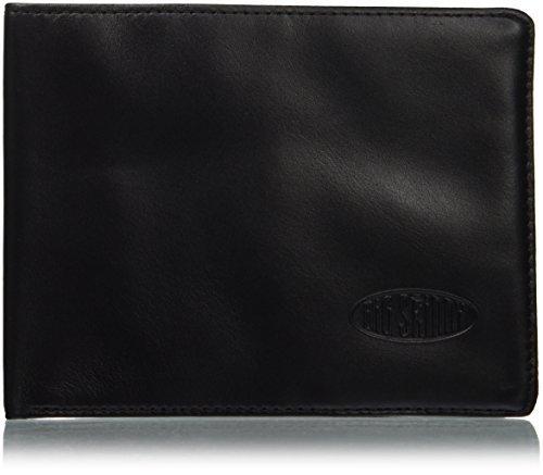 Big Skinny Men's RFID Blocking Leather Bi-Fold Wallet, Holds Up to 30 Cards, Black by Big Skinny (Big Skinny Bifold)