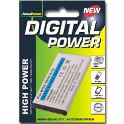 AccuPower batterie pour Nokia 6212 classic, 700mAh
