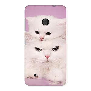 Special Kitten Family Back Case Cover for Lumia 530