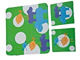 MOUSE PADS + 2 COASTERS HIPPO