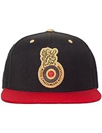 812ad7fd35d Haul Apparel Rcb Men s Acrylic Woolen Snapback Cap (Black