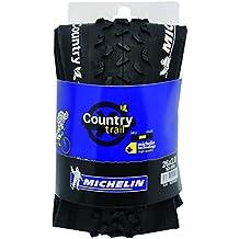 Michelin country Trail,–Neumático para bicicleta, diseño de triángulo flexible, negro, 26x 2.00