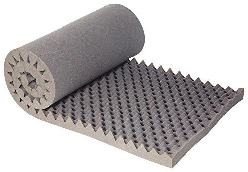6 Schaumstoff-matratze (Camp Gear Unisex ca Schaumstoff Matratze, grau, 60x 190x 6cm)