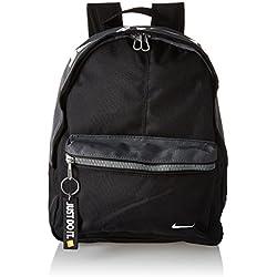 Nike Young Athletes Classic BA Mochila, Niños, Negro/Gris/Blanco, Talla única