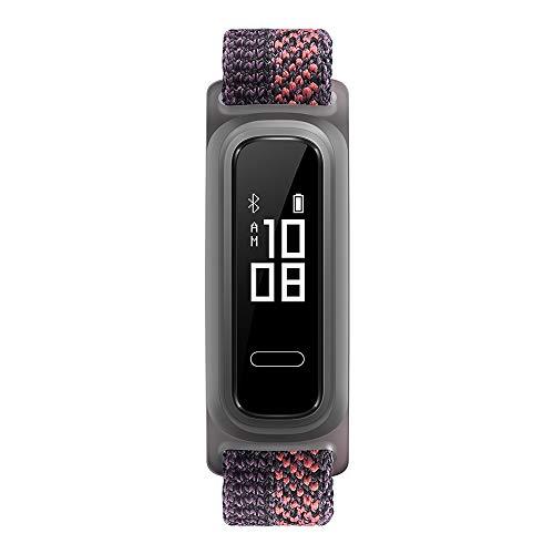 Huawei Band 4e wasserdichter Bluetooth Fitness- Aktivitätstracker mit 6-achsigem Bewegungssensor, OLED Display und Touchscreen, Sakura Coral