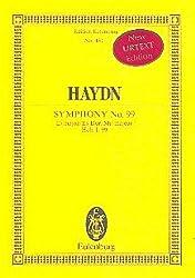 Sinfonie Es-Dur Nr.99 Hob.I:99 : für Orchester Studienpartitur