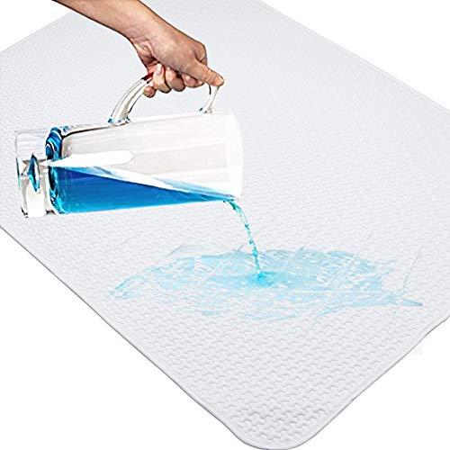 Yoofoss coprimaterasso impermeabile 70 x 100cm assorbente incontinenza materasso protezioni materasso y foglio assorbente pad per neonati, culla, bambini y adulti incontinenza