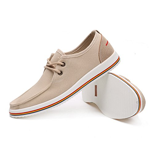 XiaoYouYu , Semelle compensée homme Style# 1 Beige