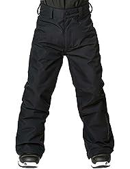 Horsefeathers Niños Rae Kids Pantalones, otoño/invierno, infantil, color negro, tamaño S