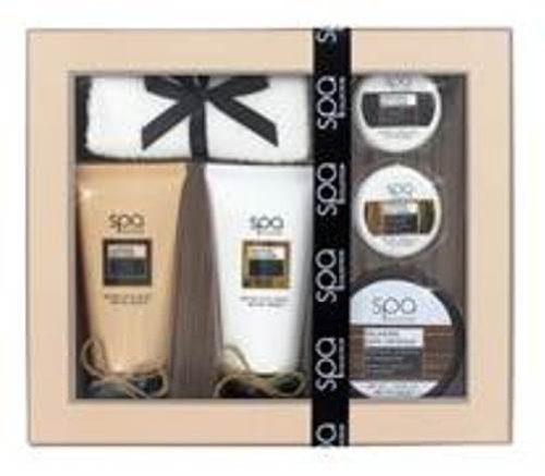 Style & Grace Spa Bath & Body Pamper Time Gift Set 70ml Cleansing B/Wash + 70ml Smoothing B/L + 50g