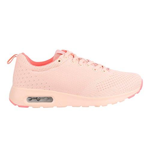 Sneakers rosa per donna Elara LyUxOAEk