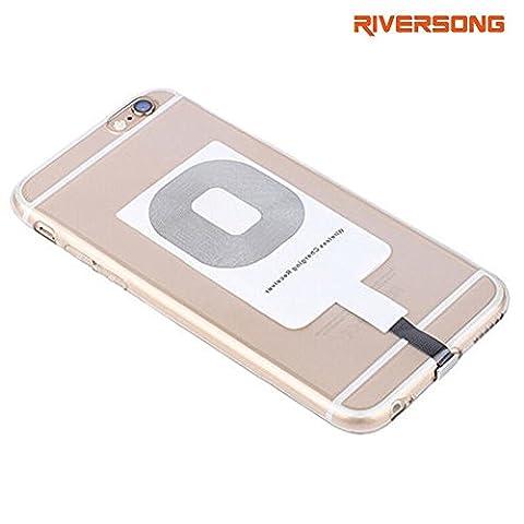 iPhone Qi charge récepteur RIVERSONG® 0.5mm super-mince Qi standard récepteur