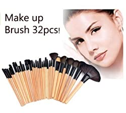 32stk. Make up Pinsel Set profi Kosmetik make up Pinselset mac mit Tasche
