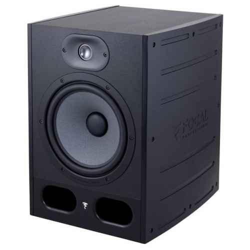 Focal Alpha 80 140W Black loudspeaker - loudspeakers (Universal, 2-way, Tabletop/bookshelf, Built-in, 2.54 cm (1