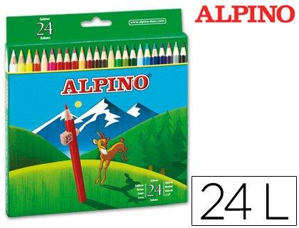 Preisvergleich Produktbild Alpino–Flanellhemden Farben 658C/24Farben langen (12Stück)