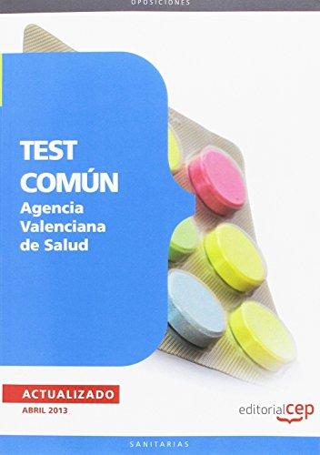 Agencia Valenciana De Salud. Test Común
